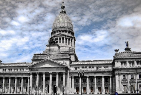 architecture and dome on capital building