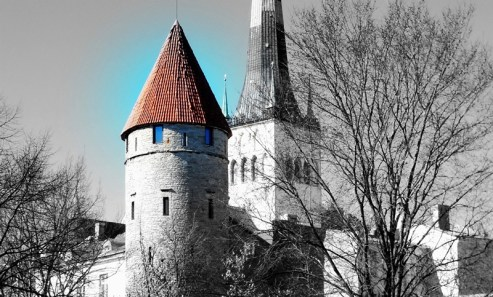 tower in city wall