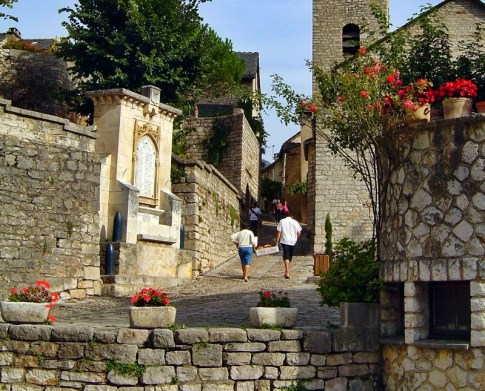 village of St Enimie France