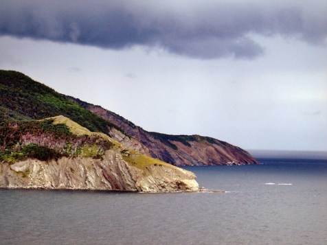 Meat Cove in northern Cape Breton meets the Gulf of St. Lawrence - Canada