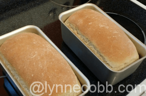 Mmm! Baking bread