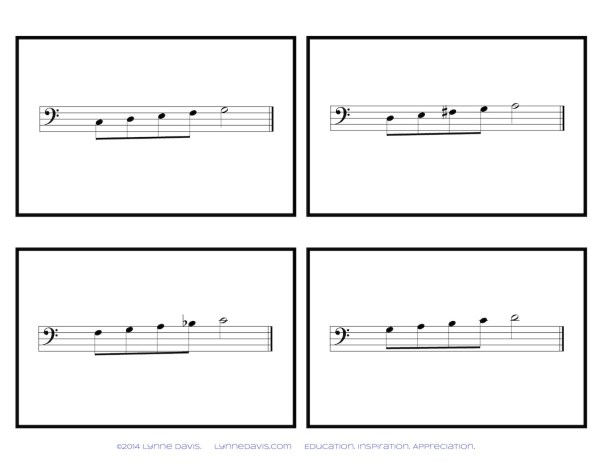 Flash Patterns Bass Clef
