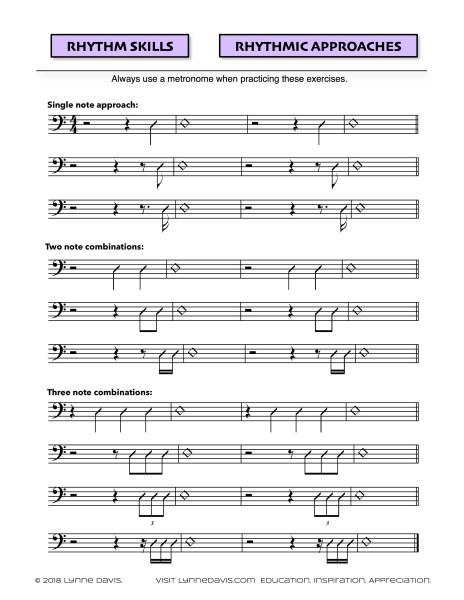 Rhythmic Approaches