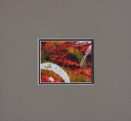 """harvest dance"" printmaking, 5x4"", $125 © lynne medsker"