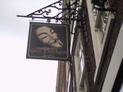 Birthplace of Guy Fawkes in 1570