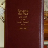 JUST IN FROM BRIAN AHEARN. BOOK LAUNCH OF BEYOND THE SEA AND THE ATLAS LOG