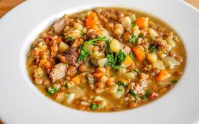 May 30, 2021: Lentil Soup & Salad