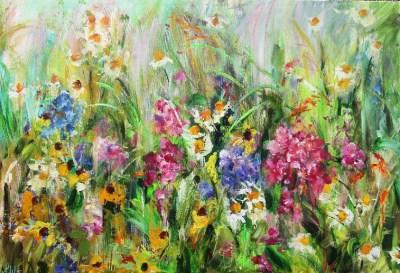 Hand Embellished Giclée Canvas Prints