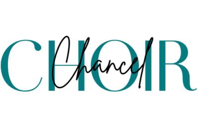 Chancel Choir Sign