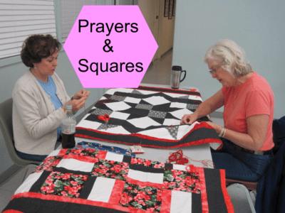 Prayers and Squares Volunteers