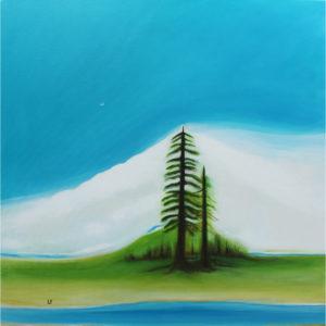 Landscapes by Lynn Farwell Contemporary Art Courtenay BC Art Alchemy Studio