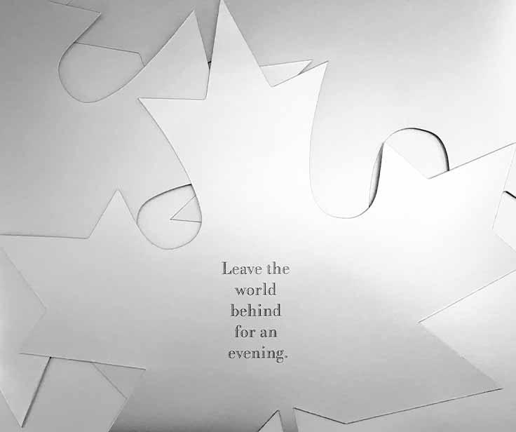 Maple Leaf invitation