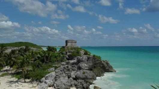 What a spot... The Mayan Ruins of Tulum