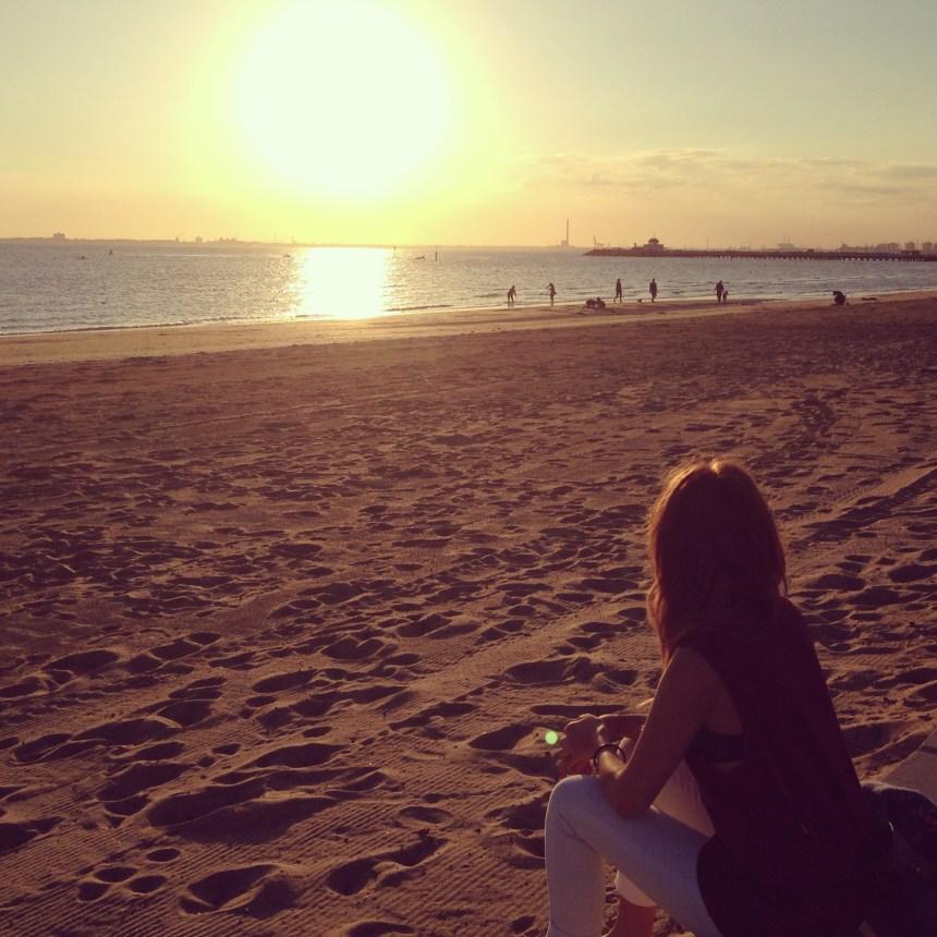 St Kilda Beach Sunset