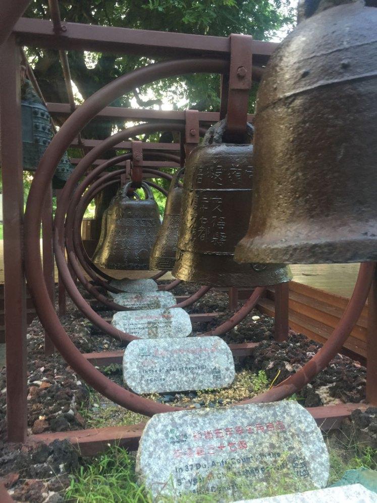 Bells at Nanshan Temple - said to represent buddha's voice.