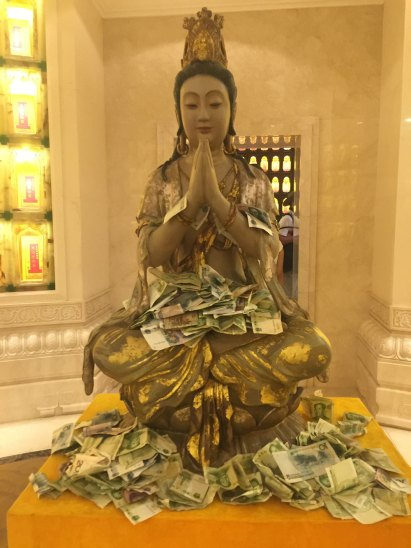 Inside Nanshan Temple