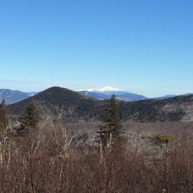 View from the summit. That white thing? Mt. Washington.