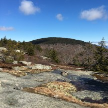 Looking back toward Belknap Mt. from the north peak of Piper Mountain.