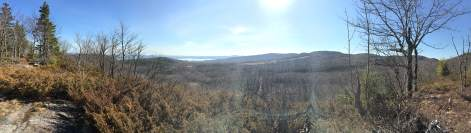 Panorama from the Overlook trail.