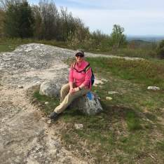 Me on the summit of Whiteface (it helps when you have someone along to take a picture).
