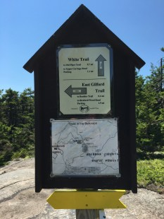 Helpful signage! Thank you BRATTS! Trails in the Belknaps are very well marked.