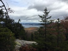 View of Winnipesaukee from the Quarry Trail.