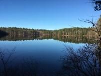 Lake Eileen - perfectly still!