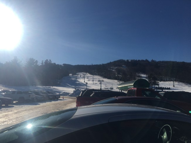 By the time I returned to the Gunstock parking lot, it was completely full.