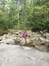 One of many water crossings - this was one of the bigger ones.