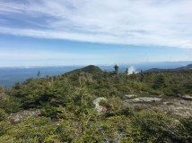 Looking over to North Kinsman from South Kinsman summit. That's only a mile, but it looks so much farther.