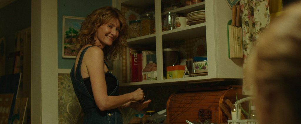 Above: Laura Dern as Bobbi in the film
