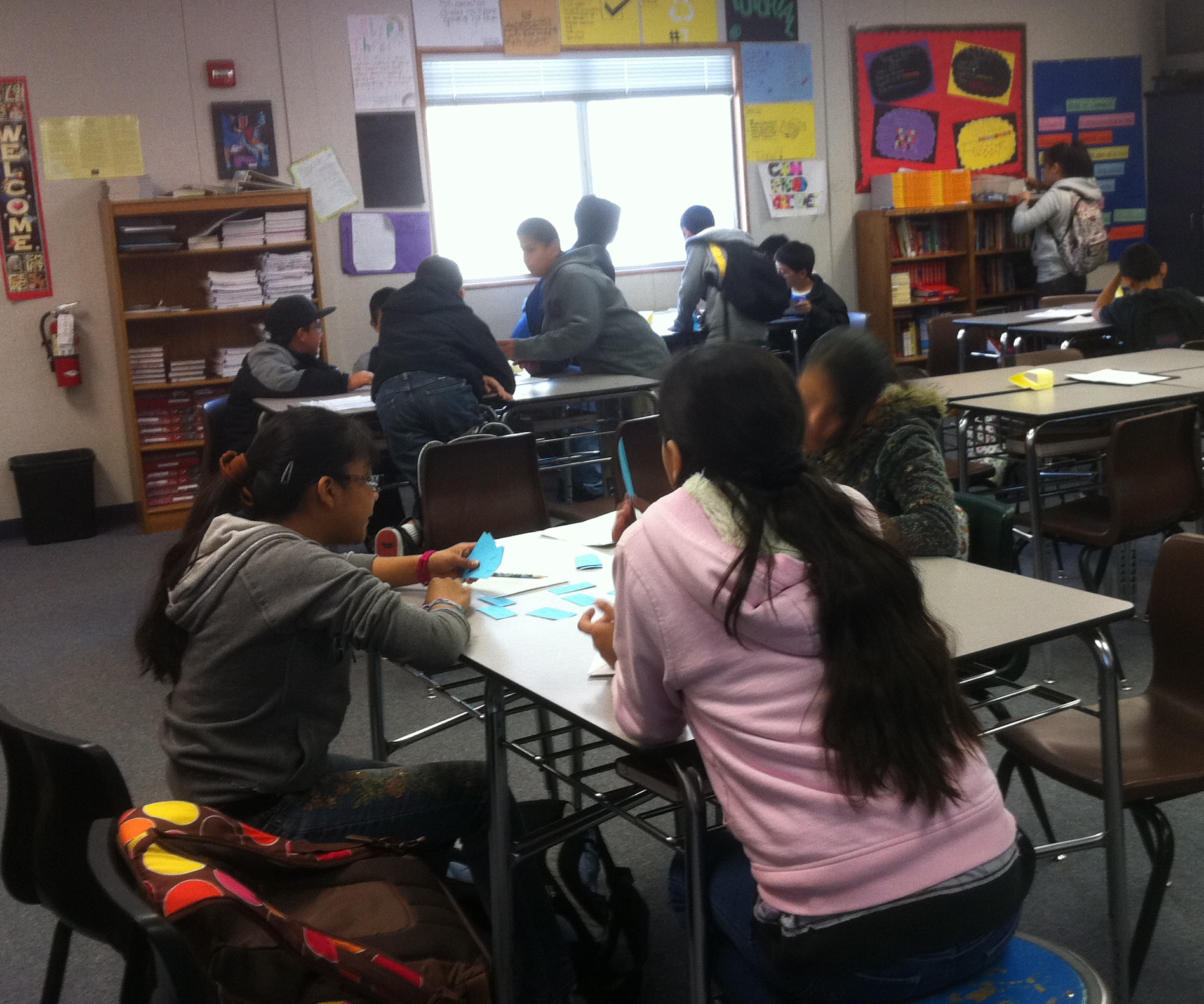 Reading Class Middle School