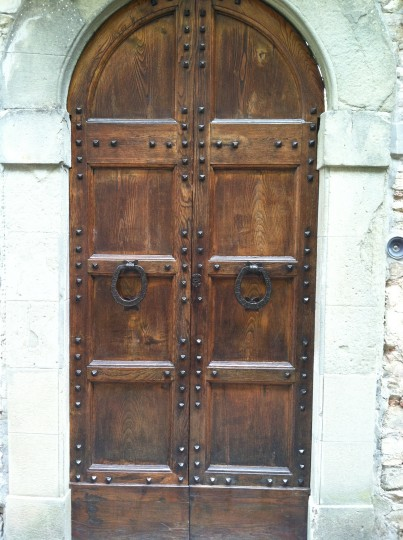 Door in Tuscany