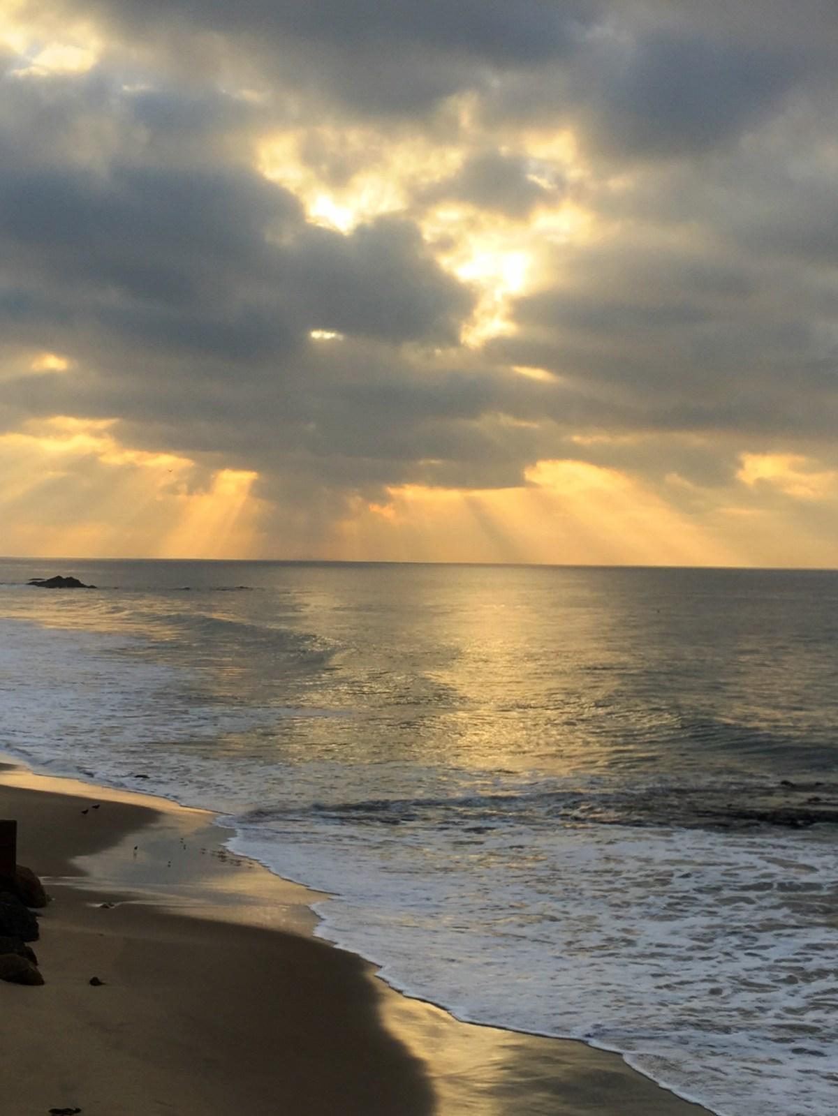Sunrise in Malibu