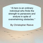 Quote - Overcoming Obstacles by Christopher Reeve