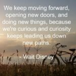 Quote - Moving Foward by Walt Disney