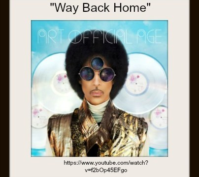 Song - Way Back Home By Prince