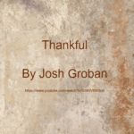 song-thankful-by-josh-groban