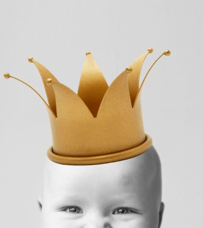 Baby with Crown