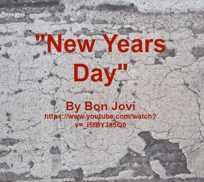 Song - New Years Day by Bon Jovi