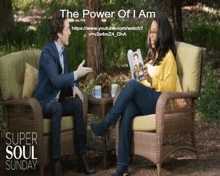 Song - The Power of I Am Joel Osteen with Oprah Winfrey