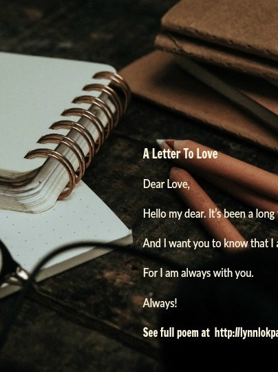 Quote - A Letter To Love by Lynn Lok-Payne