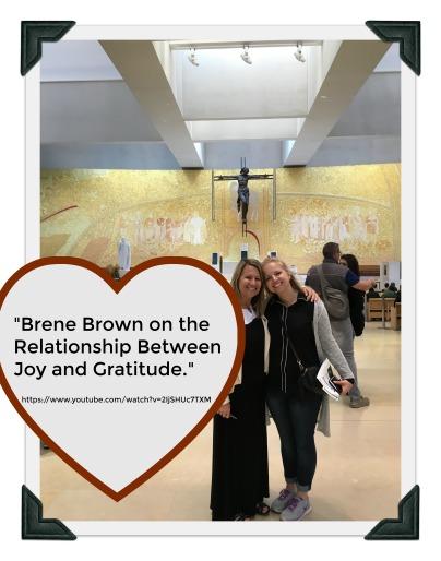 Video - Brene Brown on Joy and Gratitude