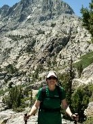 Lynn on Rush Creek Trail