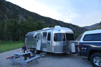 Site at North Fork RV Park