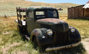 Of course, there must be an old truck!