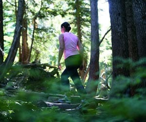 Hiking in Lynn Valley North Vancouver