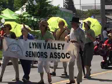 Neighbourhood seniors are well represented by the LV Seniors' Association.
