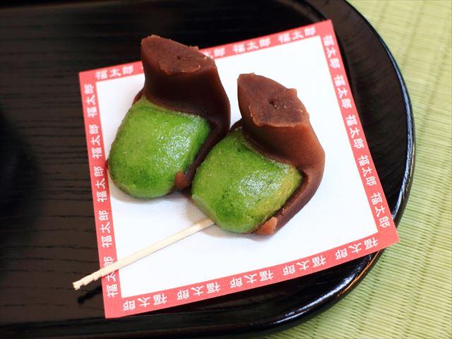 リーゼントじゃねぇ!三嶋大社の名物、福太郎餅が美味しい。