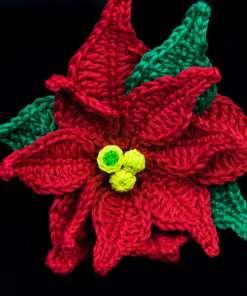 Poinsettia Crochet Pattern